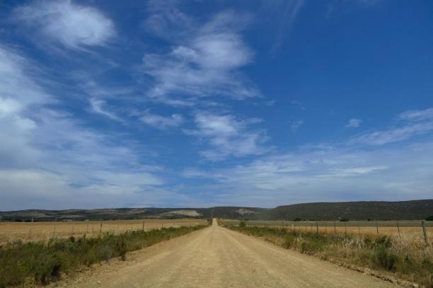Südafrika South Africa Kap De Hoop Nature Reserve Naturreservat Straße staubig