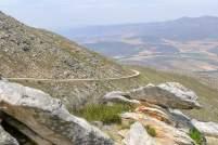 Südafrika South Africa Kleine Karoo Oudtshoorn Swartberge Swartberg Pass Berge Serpentinen