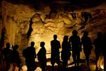 Südafrika South Africa Kleine Karoo Oudtshoorn Cango Caves Tropfsteinhöhle Höhle Schatten