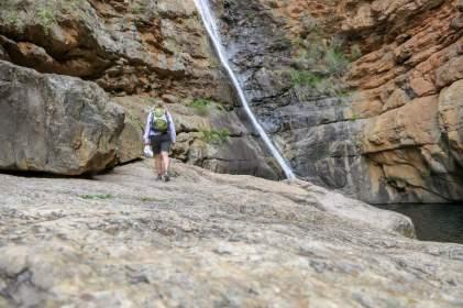 Südafrika South Africa Große Karoo Swartberge Meiringspoort Wasserfall