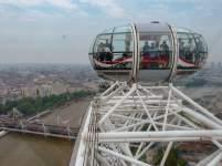 Großbritannien England UK London London Eye Riesenrad Themse Fahrt höchster Punkt Ausblick