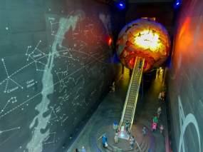 Großbritannien England UK London Natural History Museum Weltall Universum Sonne