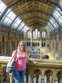 Großbritannien England UK London Natural History Museum Foyer Halle obere Etage Ausblick