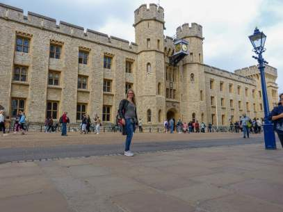 Großbritannien England UK London Tower of London Burg Palace Kronjuwelen