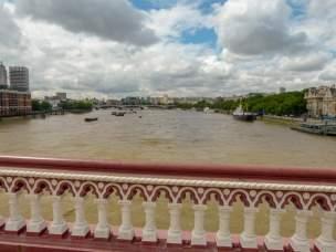 Großbritannien England UK London Southbank Südliches Ufer Themse Blackfriars Bridge Ausblick
