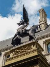 Großbritannien England UK London City of London Finanzdistrikt Drache