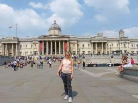 Großbritannien England UK London West End Trafalgar Square National Gallery
