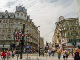 Großbritannien UK England London West End Leicester Square