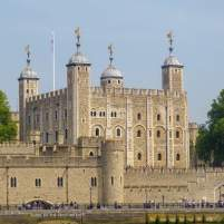 Großbritannien England UK London Themse Bootsfahrt River Thames Cruise Boot Tower of London Burg White Tower