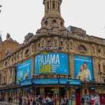 Großbritannien UK England London West End Theatreland Musicals Shaftesbury Theatre Pajama Game
