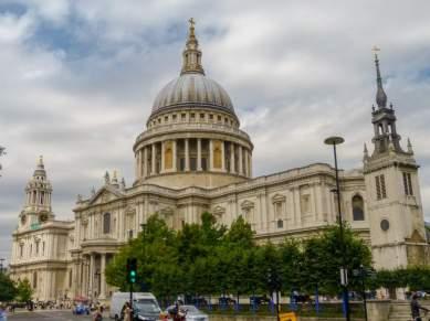 Großbritannien England UK London St Pauls Cathedral Kathedrale