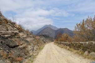 Afrika Südafrika South Africa Montagu Pass Outeniqua Berge Straße Schotterstraße