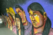 Südamerika Lateinamerika Peru Lima Barranco Street Art