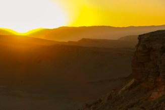Südamerika Lateinamerika Chile Atacama Wüste Coyote Felsen Sonnenuntergang