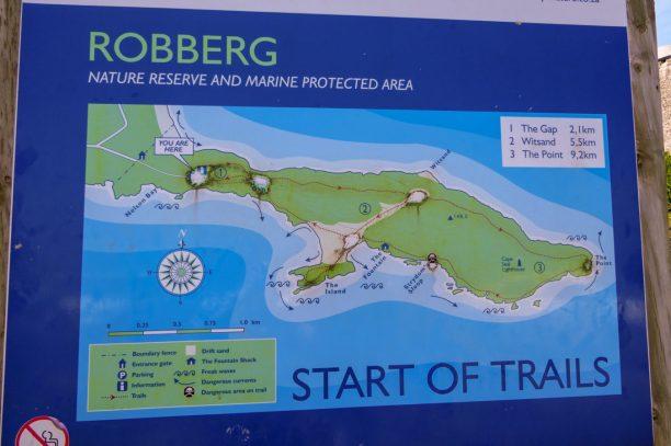 Südafrika South Africa Garden Route Kap Plettenberg Bay Robberg Nature Reserve Naturreservat Halbinsel Wanderung Karte