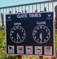 Südafrika South Africa Garden Route Ostkap Addo Elephant Nationalpark Safari Main Gate