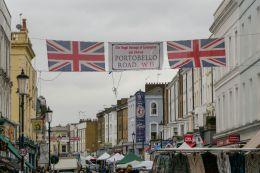 London England UK Notting Hill Portobello Road