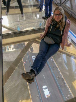 London England UK Tower Bridge Experience Brücke Museum Glasboden