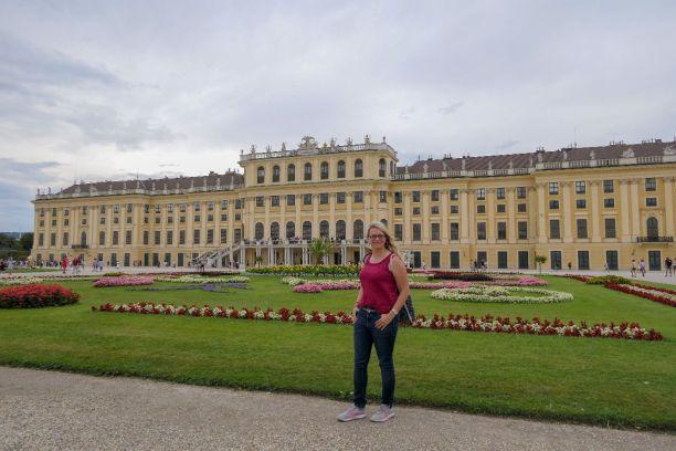 Wien Vienna Österreich Schloss Schönbrunn Schlossgarten