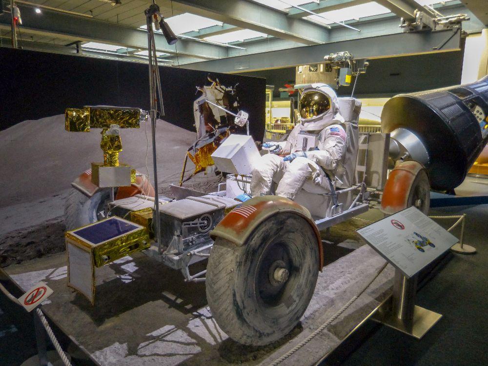 Deutsches Museum München Deutschland Naturwissenschaft Technik Raumfahrt Mond