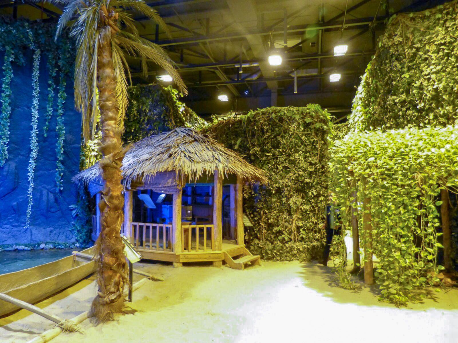 Bremerhaven Deutschland Klimahaus Museum Klima Wetter Südsee Samoa
