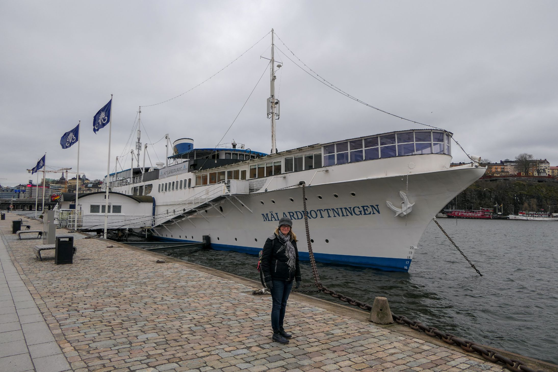 Stockholm Schweden Städtetrip Hotel Schiff Mälardrottningen Yacht