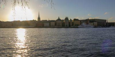 Stockholm Schweden Städtetrip Städtereise Galma Stan Altstadt Blick von Skeppsholmen
