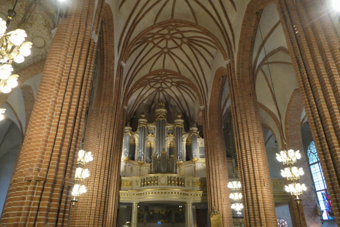 Stockholm Schweden Gamla Stan Stadsholmen Altstadt Storykyrkan Kirche Orgel