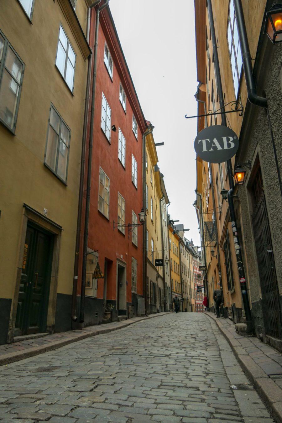 Stockholm Schweden Gamla Stan Stadsholmen Altstadt Gasse
