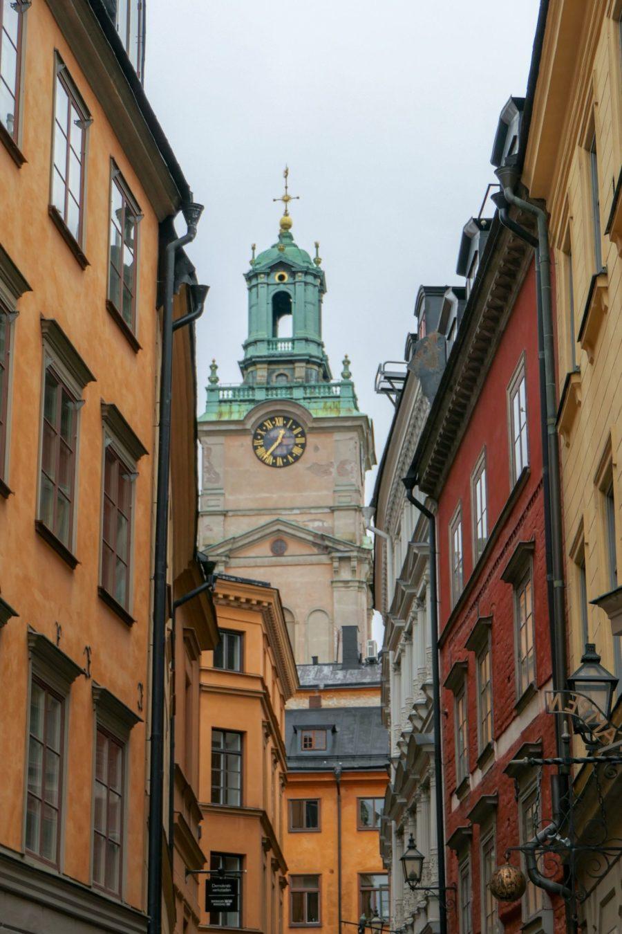 Stockholm Schweden Gamla Stan Stadsholmen Altstadt Storykyrkan