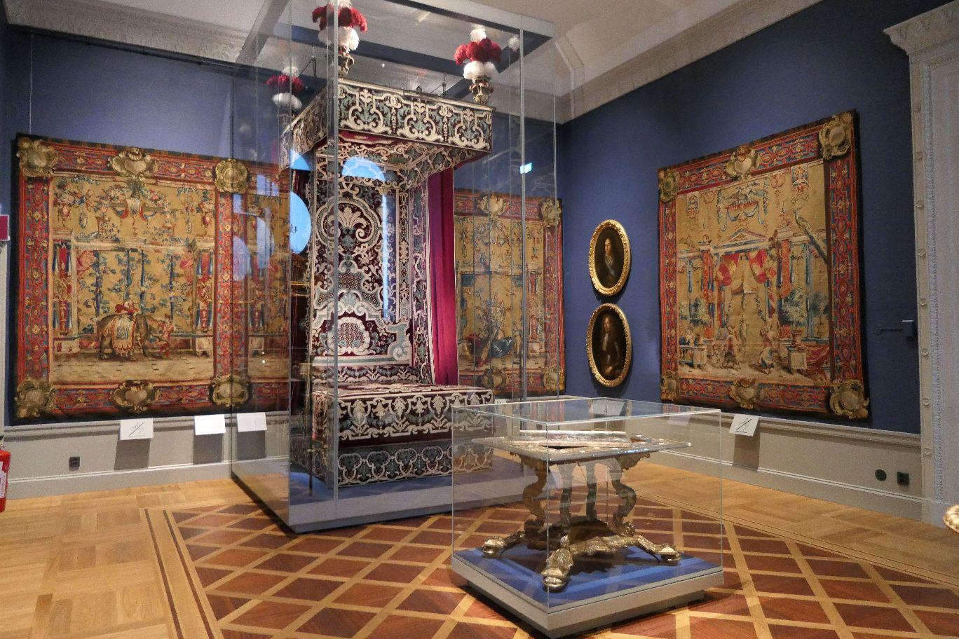 Stockholm Schweden Nationalmuseum Museum Kunst Thron