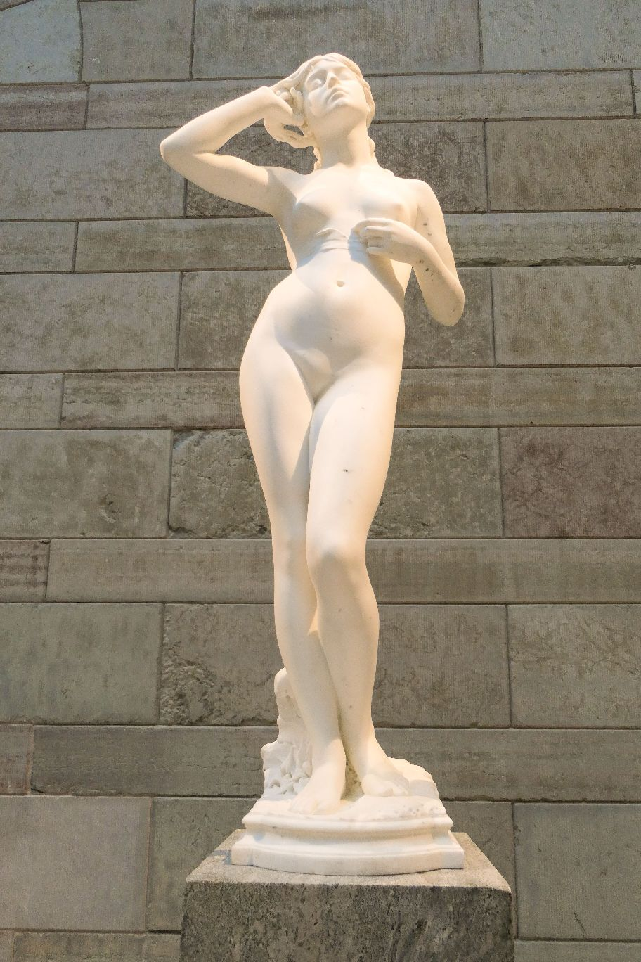 Stockholm Schweden Nationalmuseum Museum Kunst Skulpturen Innenhof