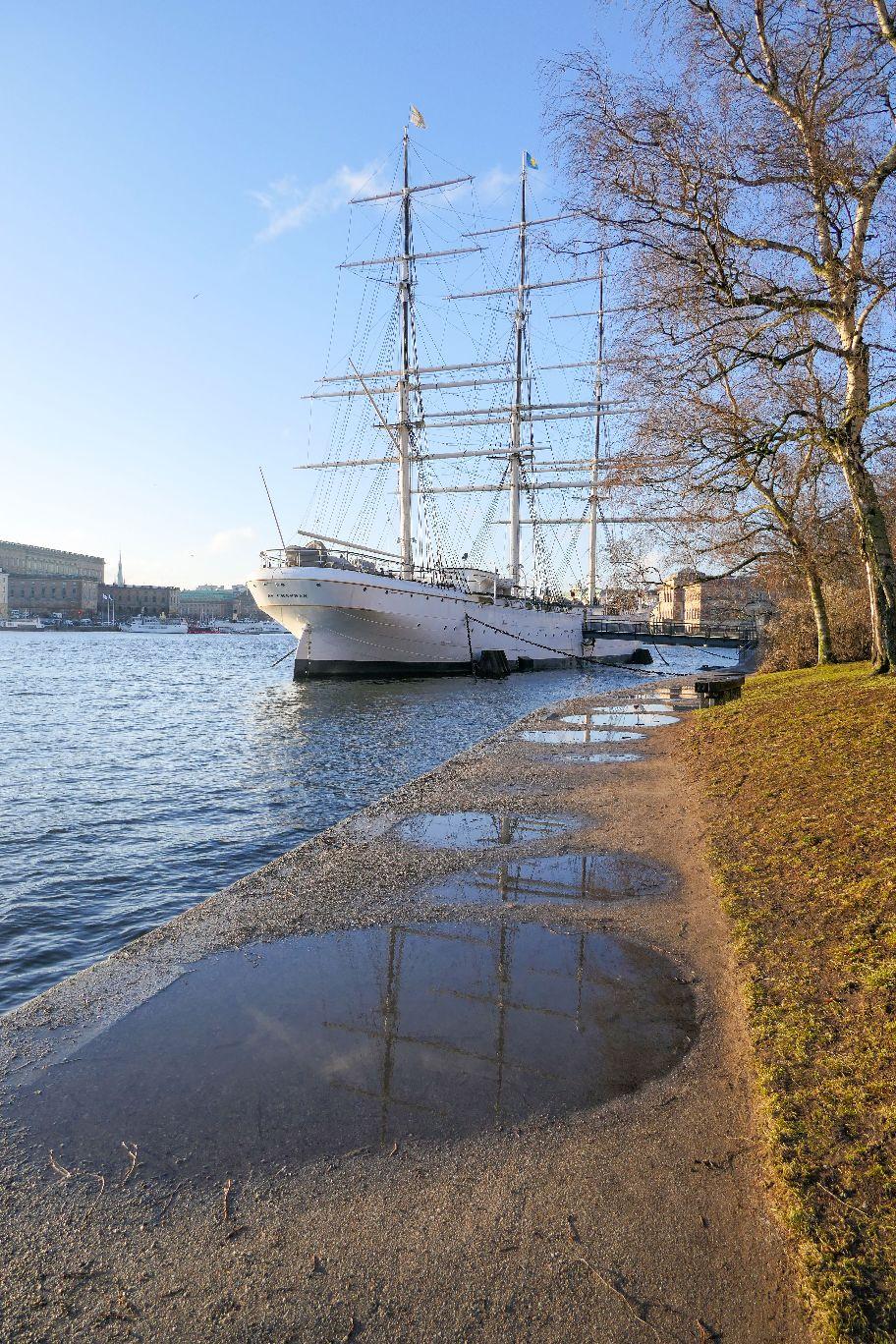 Stockholm Schweden Skeppsholmen HMS AF Chapmann