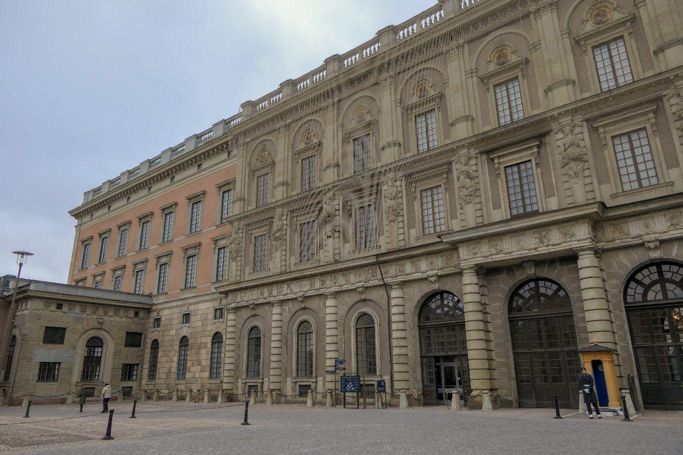 Stockholm Schweden Kungliga Slottet Schloss