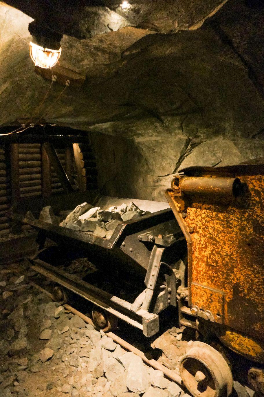 Stockholm Schweden Museum Technikmuseum Tekniska Museet Bergbau