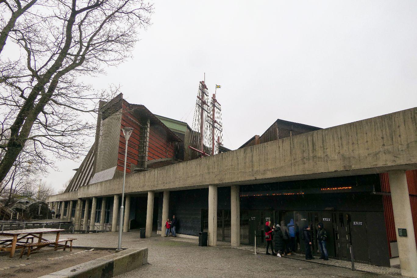 Stockholm Schweden Djurgarden Vasa Museum