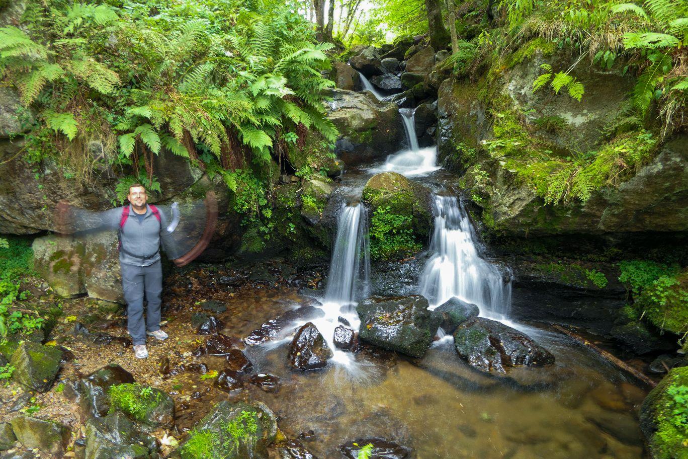 Deutschland Schwarzwald Hochschwarzwald Todtnauberg Todtnauer Wasserfall erste Stufe