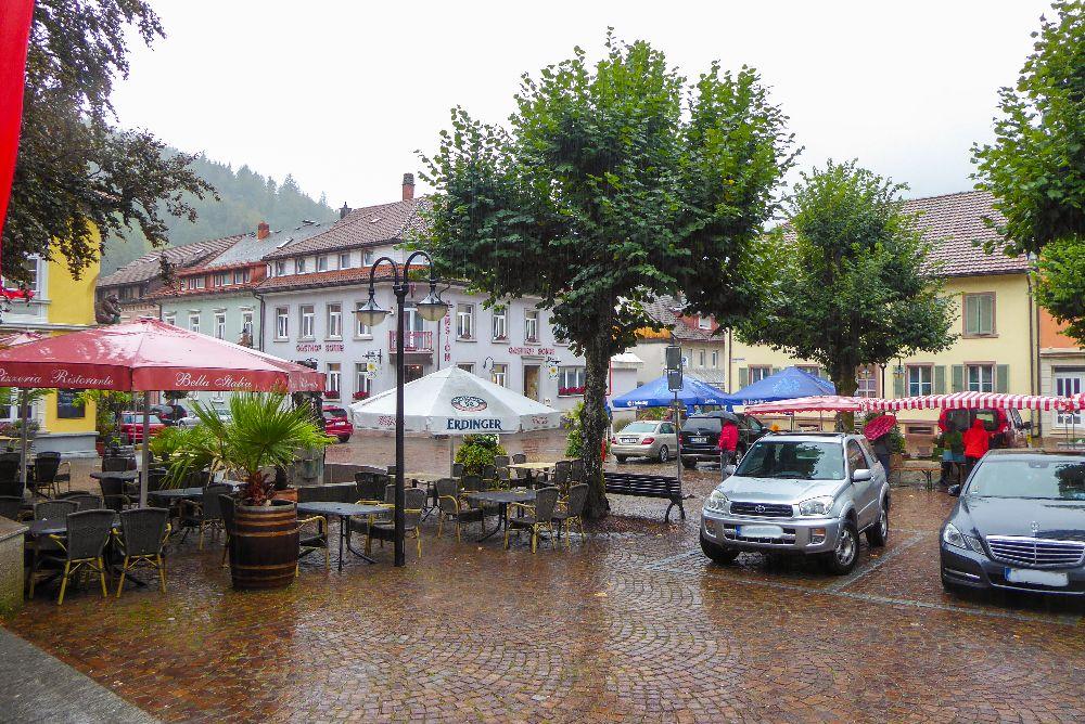 Deutschland Schwarzwald Hochschwarzwald Todtnau Marktplatz