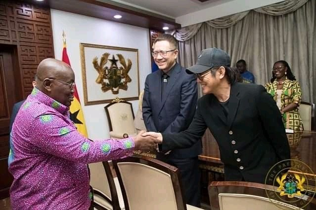 Jet Li, Jack Ma and Ban Ki Moon are in Ghana, this is what brought them.