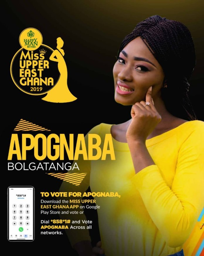 Apognaba joins fight against autism stigmatization in Miss Upper East 2019.