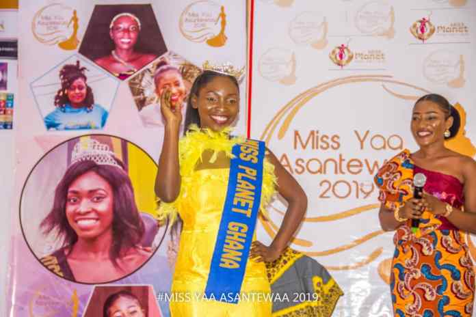 Sikapa to represent Ghana at the Miss Planet International in Cambodia, Asia.