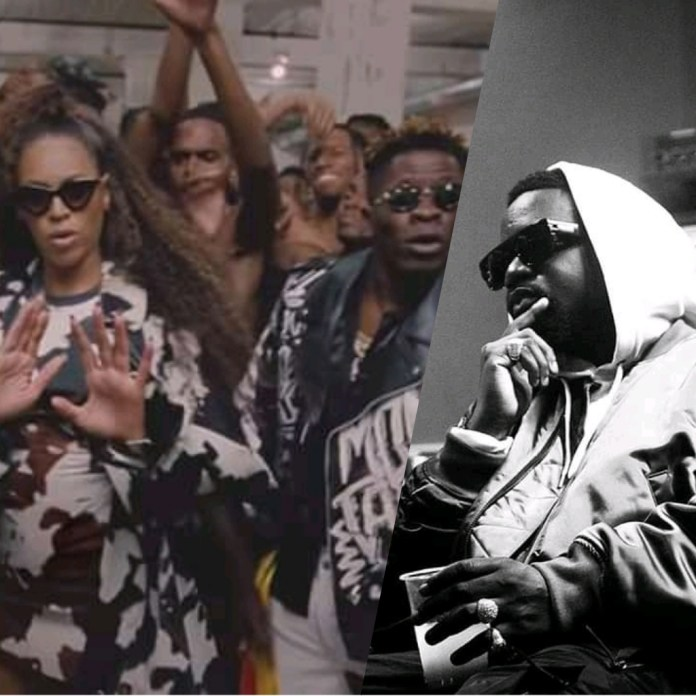 Sarkodie reacts to Shatta Wale's feature in Beyoncé's ALREADY music video