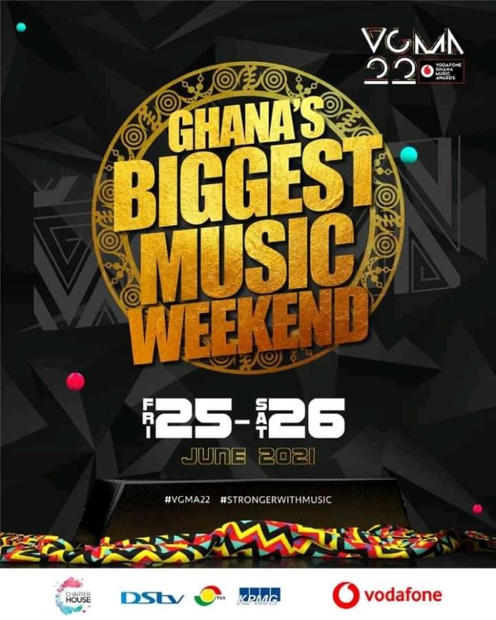 Date for Vodafone Ghana Music Awards(VGMA) 2021 finally announced