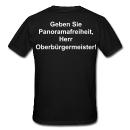 Kleiner T-Shirt-Protest
