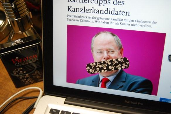 Der Namenschild-Kanzlerkandidat