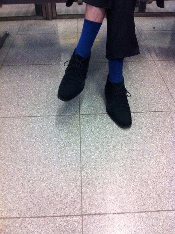Neuland-Beine
