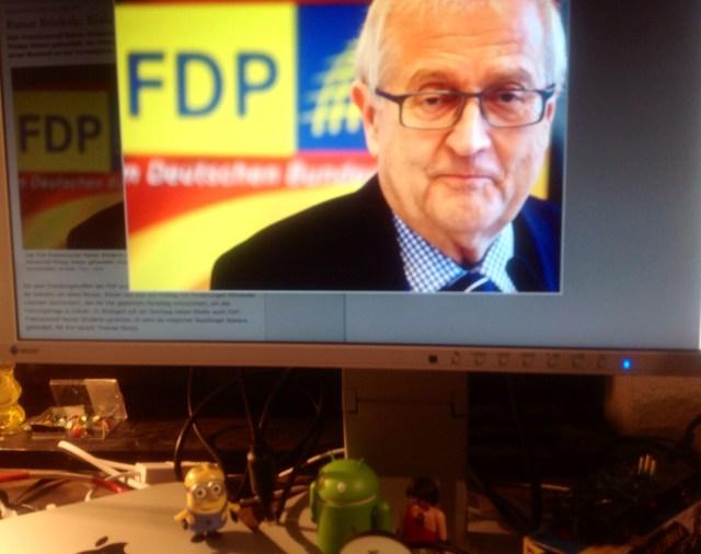 FDP-Politiker Brüderle soll die Deindustrialisierung verhindern