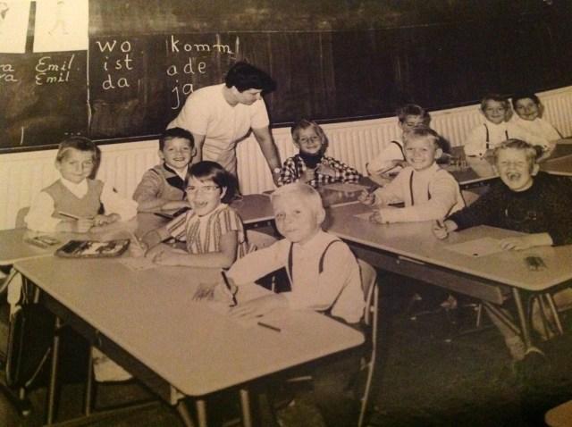 Da gab es noch Kopfnüsse statt digitaler Werkzeuge - Regenweiher Grundschule in Berlin-Neukölln.