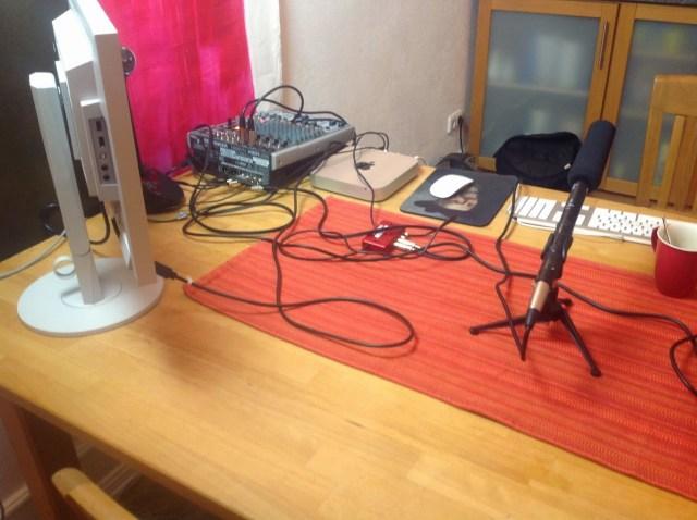 Mobiles Livestreaming-Studio