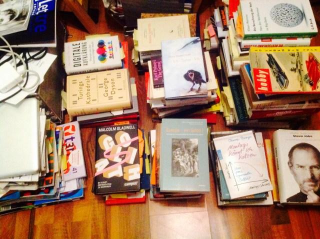 Vom Nutzen der Bücherhaufen